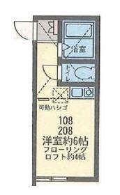 アパートメンツ横浜妙蓮寺2階Fの間取り画像