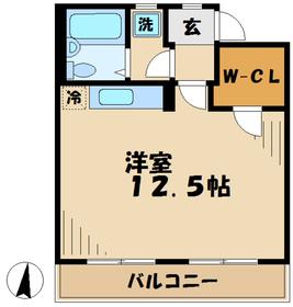 カルチャーバレー唐木田14階Fの間取り画像