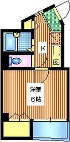 ラルミエールヴィスポワール4階Fの間取り画像