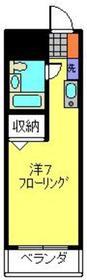 日吉駅 徒歩15分4階Fの間取り画像