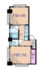 第1愛知屋ビル2階Fの間取り画像