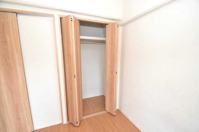 星和ビル もちろん収納スペースも確保。いたれりつくせりのお部屋です。