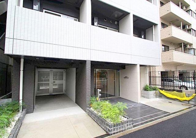ベルシード横濱WESTⅡエントランス