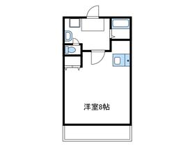 コーポ産興桜台Ⅱ5階Fの間取り画像