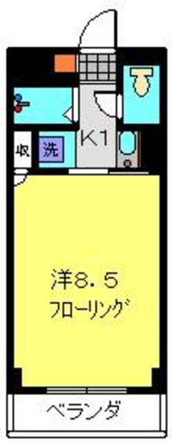 ツカヤマコートB棟間取図