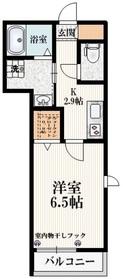 Haus Noz2階Fの間取り画像