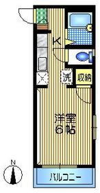 千歳船橋駅 徒歩12分2階Fの間取り画像