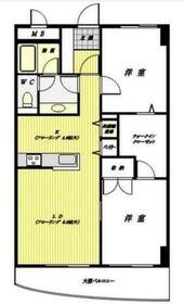 鶴見駅 徒歩2分6階Fの間取り画像