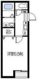 リバーサイド横浜3階Fの間取り画像