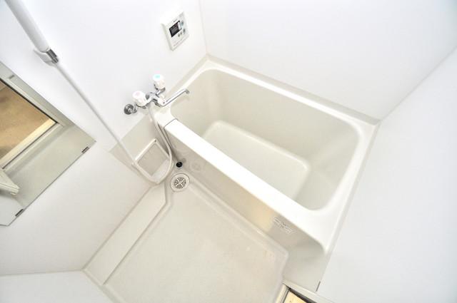 LA CASA 新深江 ちょうどいいサイズのお風呂です。お掃除も楽にできますよ。