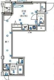 GRACE HILLS YOKOHAMA3階Fの間取り画像