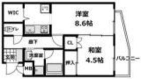 アブレスト弘明寺1階Fの間取り画像