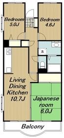 海老名駅 徒歩13分4階Fの間取り画像
