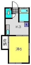 妙蓮寺駅 徒歩12分1階Fの間取り画像