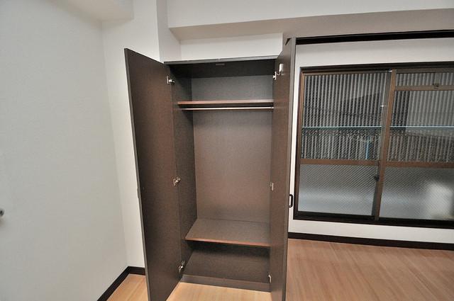 グローリア高井田 もちろん収納スペースも確保。いたれりつくせりのお部屋です。