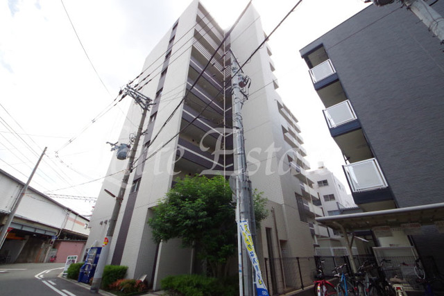 大阪市城東区関目5丁目の賃貸マンションの外観