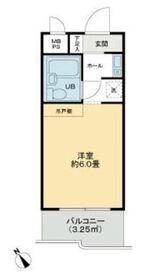 ライオンズマンション鶴見中央1階Fの間取り画像