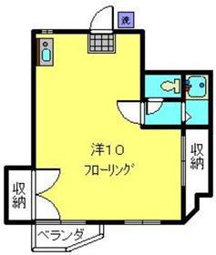 赤門第参葉月ビル1階Fの間取り画像
