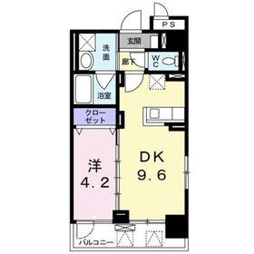 ステージ グラシア3階Fの間取り画像