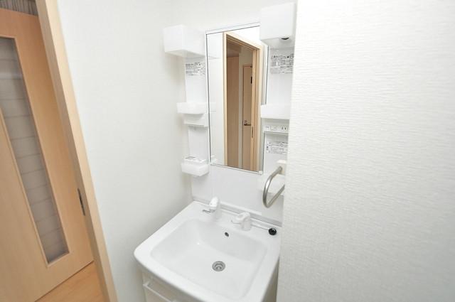 シャラロステ 豪華な洗面台はもちろんシャンプードレッサー完備です。