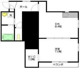 エクセル エヌ2階Fの間取り画像