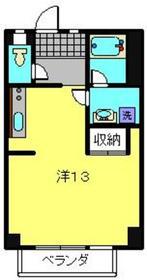 モーリマンション2階Fの間取り画像
