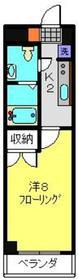 KS元住吉8階Fの間取り画像