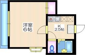 ヴェルエスタ1階Fの間取り画像