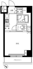 ルーブル豊島千石9階Fの間取り画像