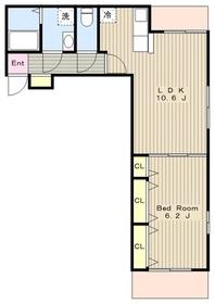メゾン ルフレ3階Fの間取り画像
