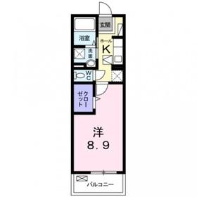 ピッコラ フォレスタ1階Fの間取り画像