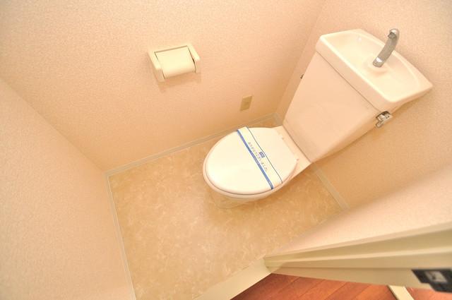 グランドール杉の木 清潔感のある爽やかなトイレ。誰もがリラックスできる空間です。