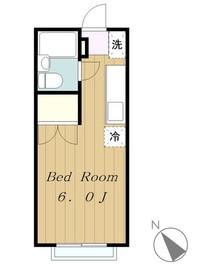 エステートピア鎌倉1階Fの間取り画像