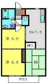 NAKⅠ2階Fの間取り画像