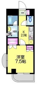 コンフォート富岡3階Fの間取り画像