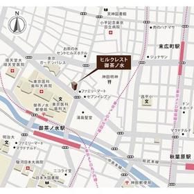 ヒルクレスト御茶ノ水案内図