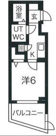 スパシエヒルズ横浜妙蓮寺1階Fの間取り画像