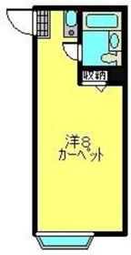 和田町駅 徒歩7分2階Fの間取り画像