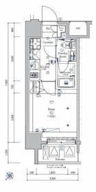 SYFORME KANNAI3階Fの間取り画像