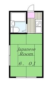 エステートパレス2階Fの間取り画像
