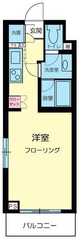ルーブル富士見台間取図