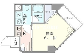 水道橋駅 徒歩7分3階Fの間取り画像