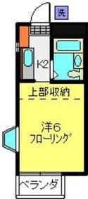 日吉本町駅 徒歩23分2階Fの間取り画像