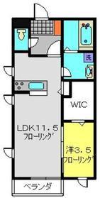 新羽駅 徒歩27分1階Fの間取り画像