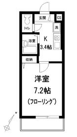 WITH2階Fの間取り画像