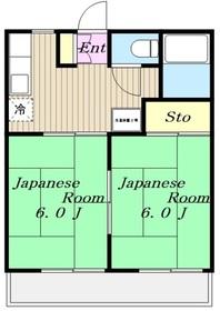 黒川駅 徒歩28分2階Fの間取り画像