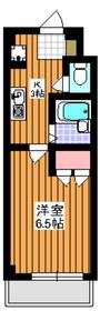 日光ハイム2階Fの間取り画像