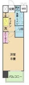 鶴見駅 徒歩6分6階Fの間取り画像
