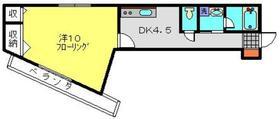 ソシア美春Ⅱ3階Fの間取り画像