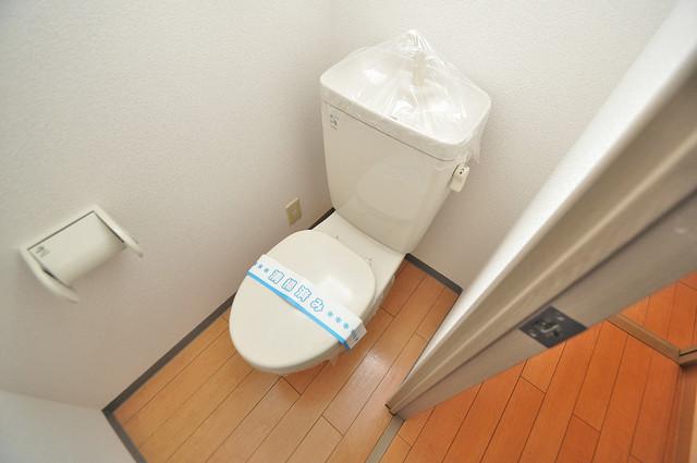 ティーアップスクエア 清潔感たっぷりのトイレです。入るとホッとする、そんな空間。